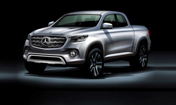 Пикап Mercedes-Benz представят через неделю