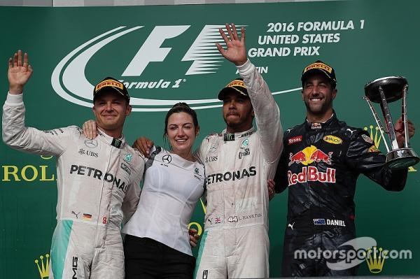 Формула-1: Юбилейная победа Хэмилтона в Гран-при США