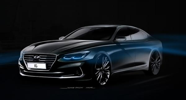 Новый Hyundai Grandeur рассекречен