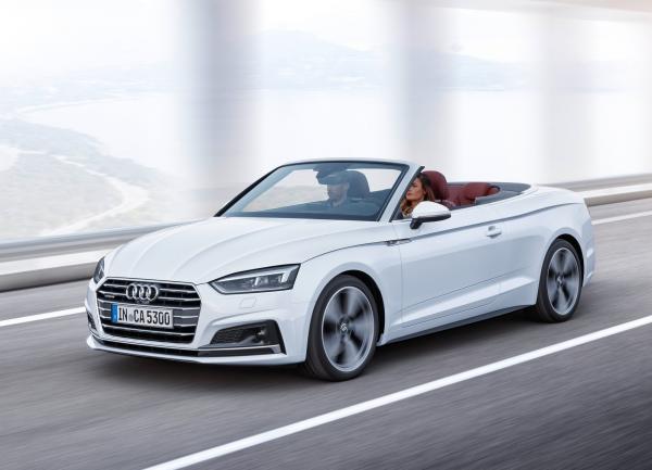 Новый Audi A5 Cabriolet – первые фото