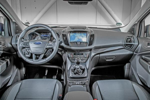 Ford Kuga: на ступеньку выше
