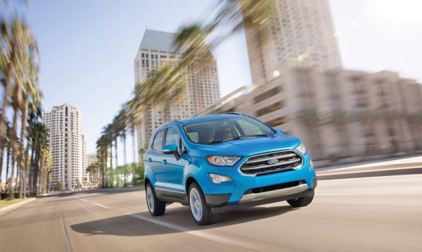 Ford EcoSport: серьезная модернизация