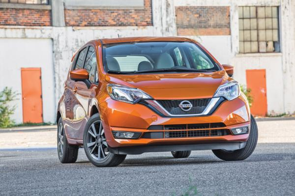 Nissan Note: модернизация