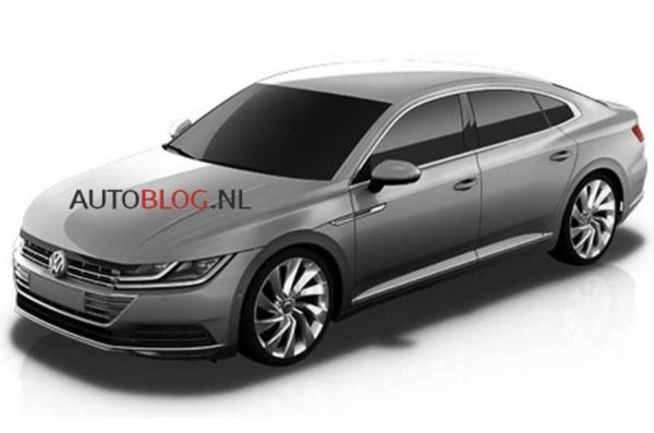 Лифтбэк Volkswagen Arteon сменит модель CC