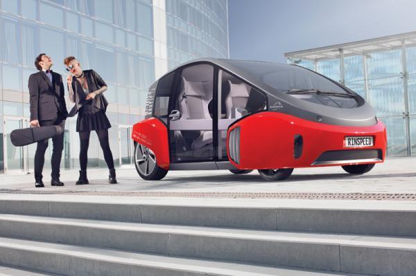 Rinspeed Oasis: городской автомобиль будущего