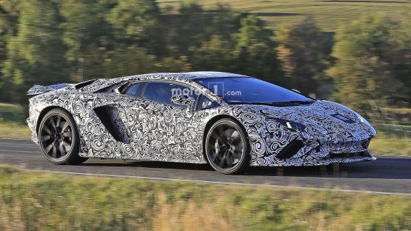 Обновленный Lamborghini Aventador S покажут в Женеве