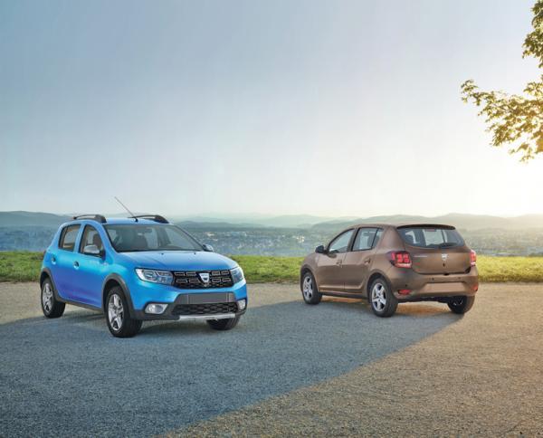 Dacia Sandero: легкое обновление