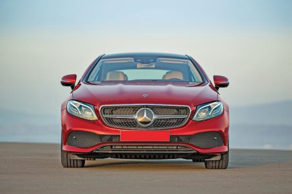 Mercedes-Benz E-Class Coupe: новое поколение