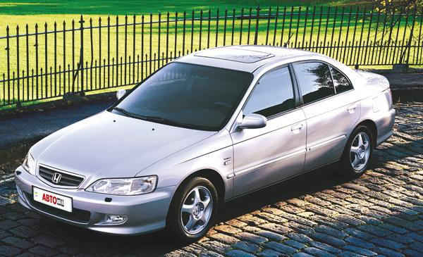 Honda Accord: британский