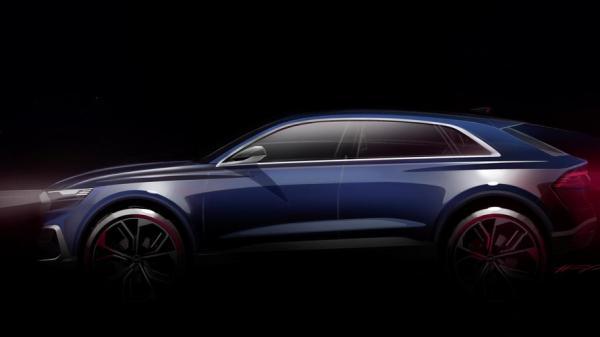 Электромобиль Audi Q8 покажут в Детройте