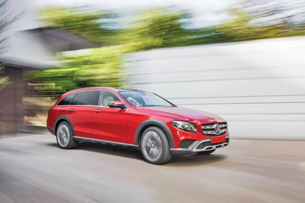 Mercedes-Benz E-Class All-Terrain: вседорожный универсал