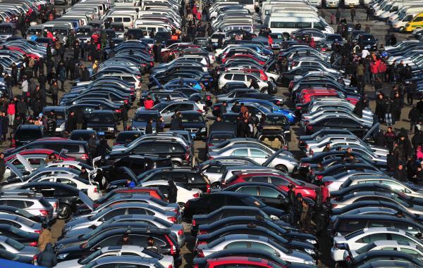 Продажи б/у авто в Украине продемонстрировали рекордный рост