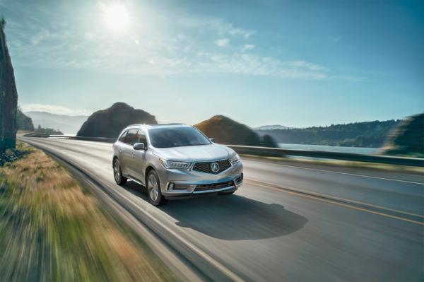 Acura MDX: первенец в новом стиле
