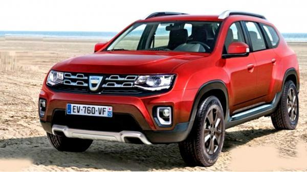 Новый Renault Duster станет семиместным