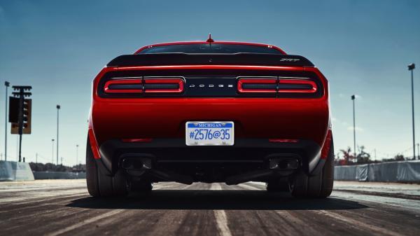 Dodge Challenger Demon станет самым мощным американским авто