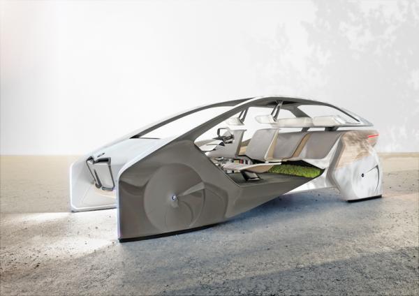 BMW i Inside Future: собрание технологий будущего