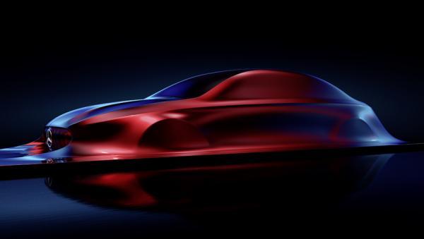 Скульптура показала, каким будет новый Mercedes-Benz CLA