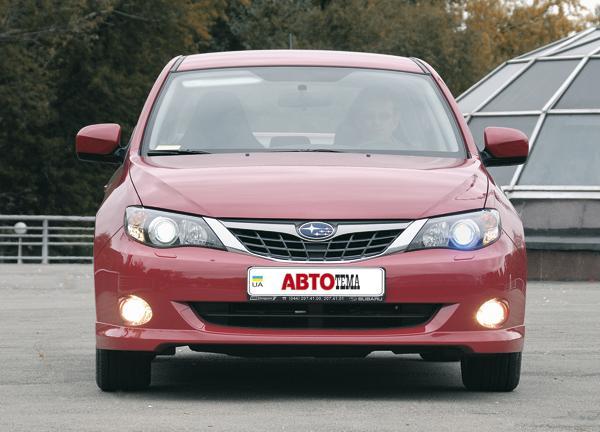 Subaru Impreza: теперь и седан…