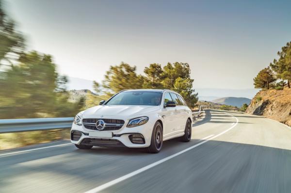 """Mercedes-AMG E63 Wagon: универсал с """"огоньком"""""""