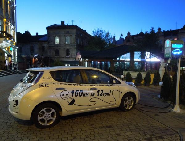 Электромобили в Украине получат льготы