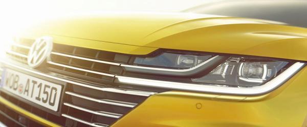 Первые фото Volkswagen Arteon
