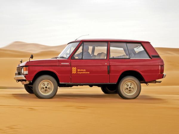 Range Rover: вседорожник высшего класса