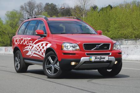 Volvo XC90 Sport: спортивная универсальность