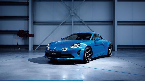 Купе Renault Alpine A110 рассекречено