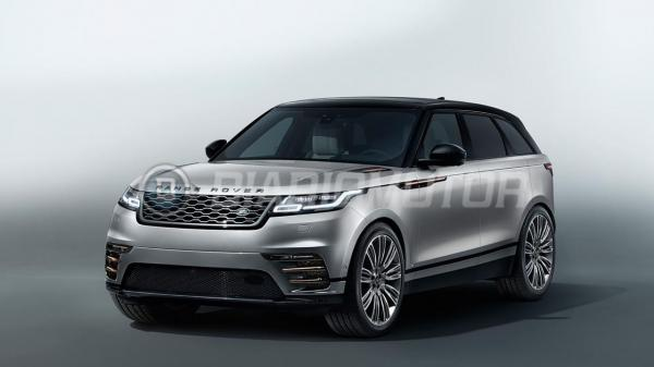 Новый Range Rover Velar полностью рассекречен