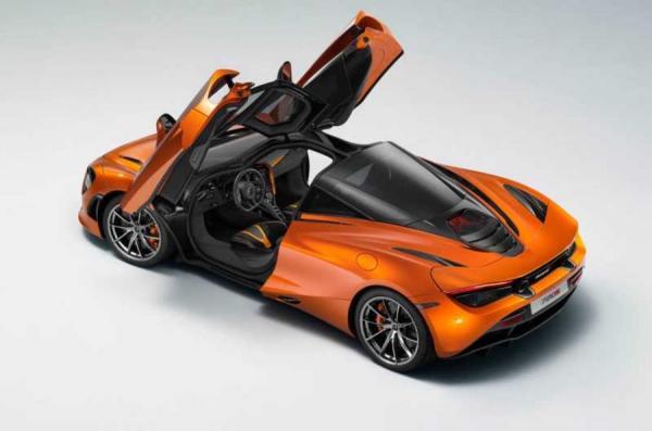 Купе McLaren 720S – первые официальные изображения