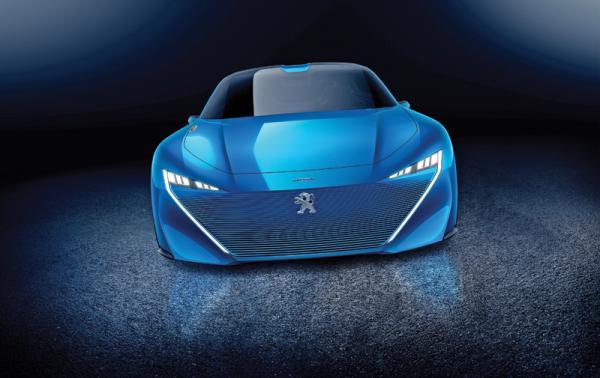 Peugeot Instinct: гибридный беспилотник