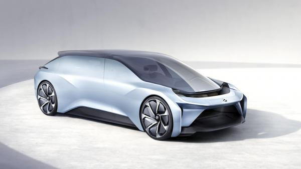 Nio Eve: беспилотный электромобиль