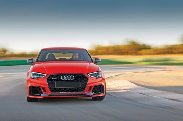Audi RS3: расширенные возможности