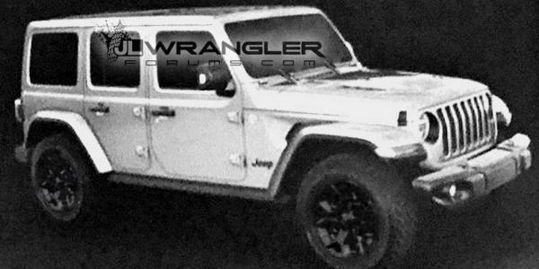 Новый Jeep Wrangler рассекречен на фото