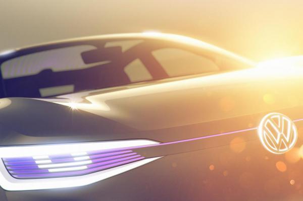 Volkswagen представит в Китае электрический вседорожник