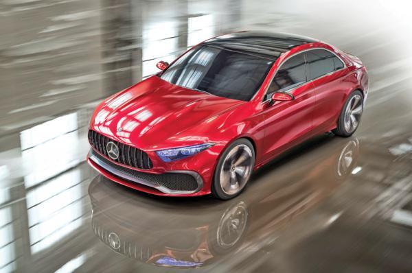 Mercedes-Benz A Sedan: предвестник нового седана