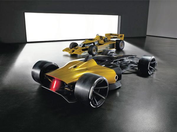 Renault RS 2027 Vision: виденье болида будущего