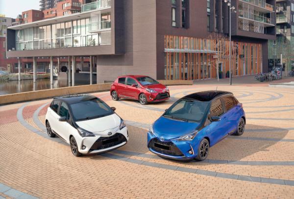 Toyota Yaris: повторное обновление