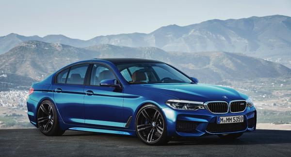 Новый BMW M5 представят во Франкфурте