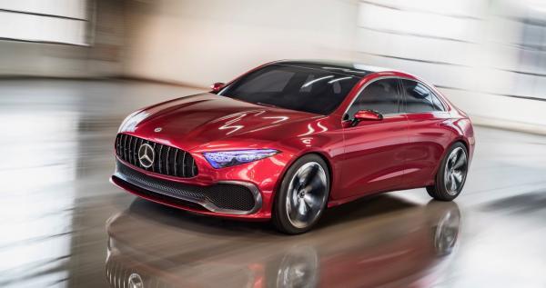 Mercedes готовит новую переднеприводную линейку моделей