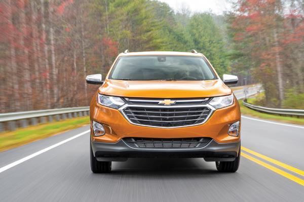 Chevrolet Equinox: европеизация