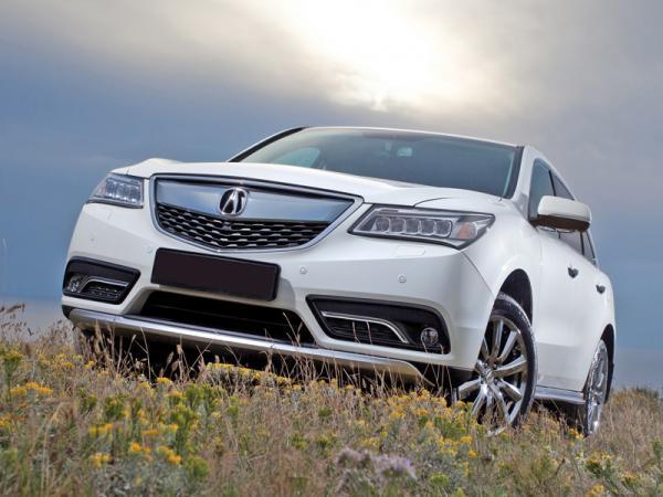 Acura MDX, Ford Explorer и Infiniti QX60: ставка на вместительность