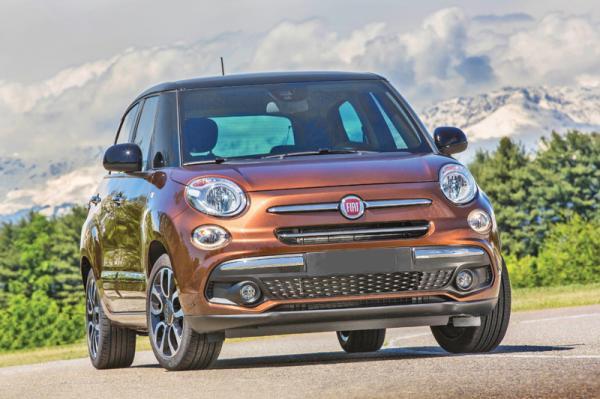 Fiat 500L: обновление
