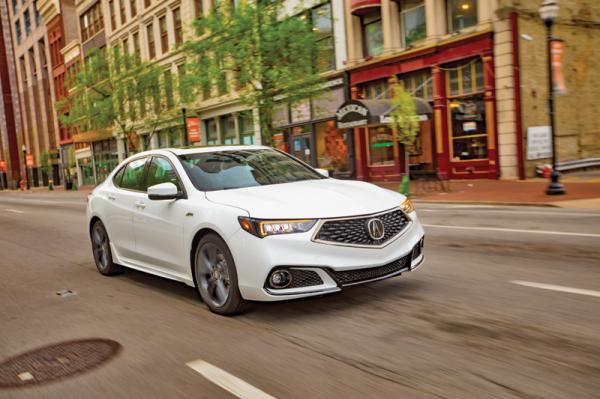 Acura TLX: обновление в новом стиле