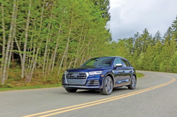 Audi SQ5: вседорожник с характером