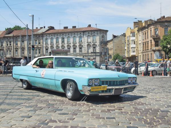 Leopolis Grand Prix: ретро-ралли на старинных улицах Львова