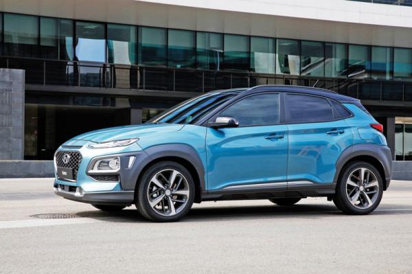 Hyundai Kona: самый маленький в линейке
