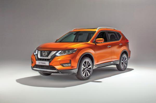 Nissan X-Trail: модернизация