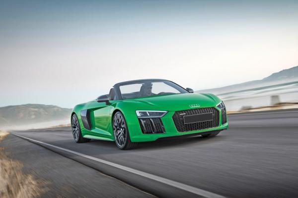 Audi R8 Spyder Plus: самый быстрый кабриолет в истории марки