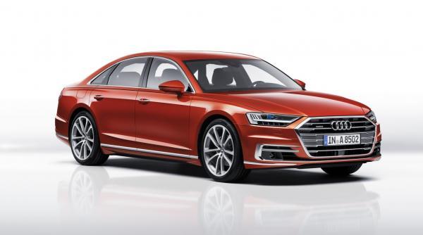 Новый Audi S8 станет гибридом